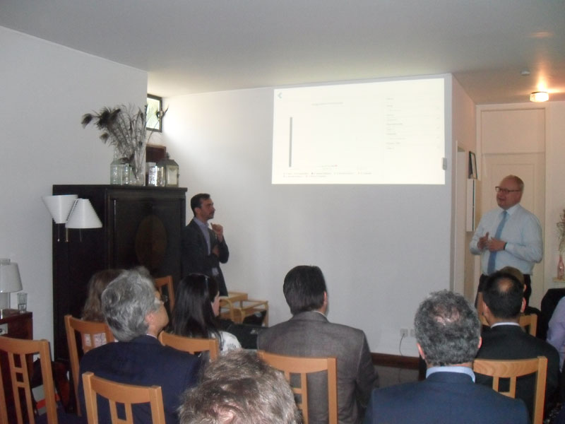 The event that we organized in Cyprus and the Embassy of